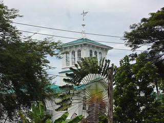 Casa de madeira em estilo colonial em Georgetown