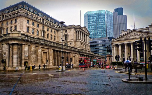 Royal Exchange and Bank of England