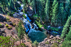 Birds Eye View over the Middle Falls
