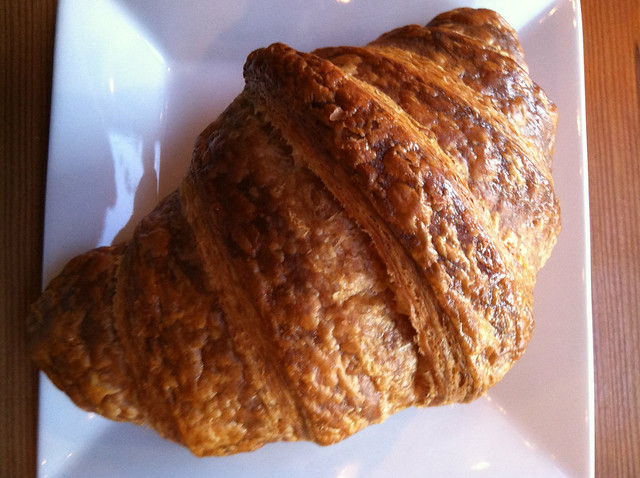 And a plain croissant, just because