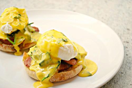 Cajun Eggs Benedict