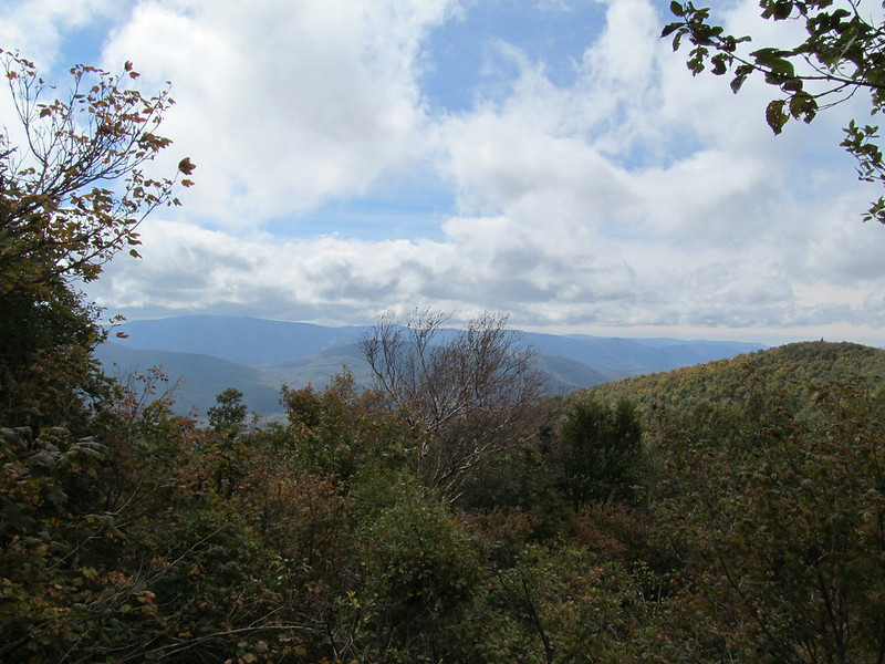 View south from west ridge of Thomas Cole Mountain