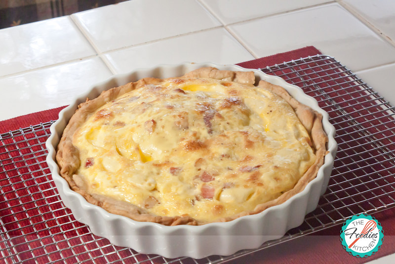 Julia Child's Quiche Lorraine