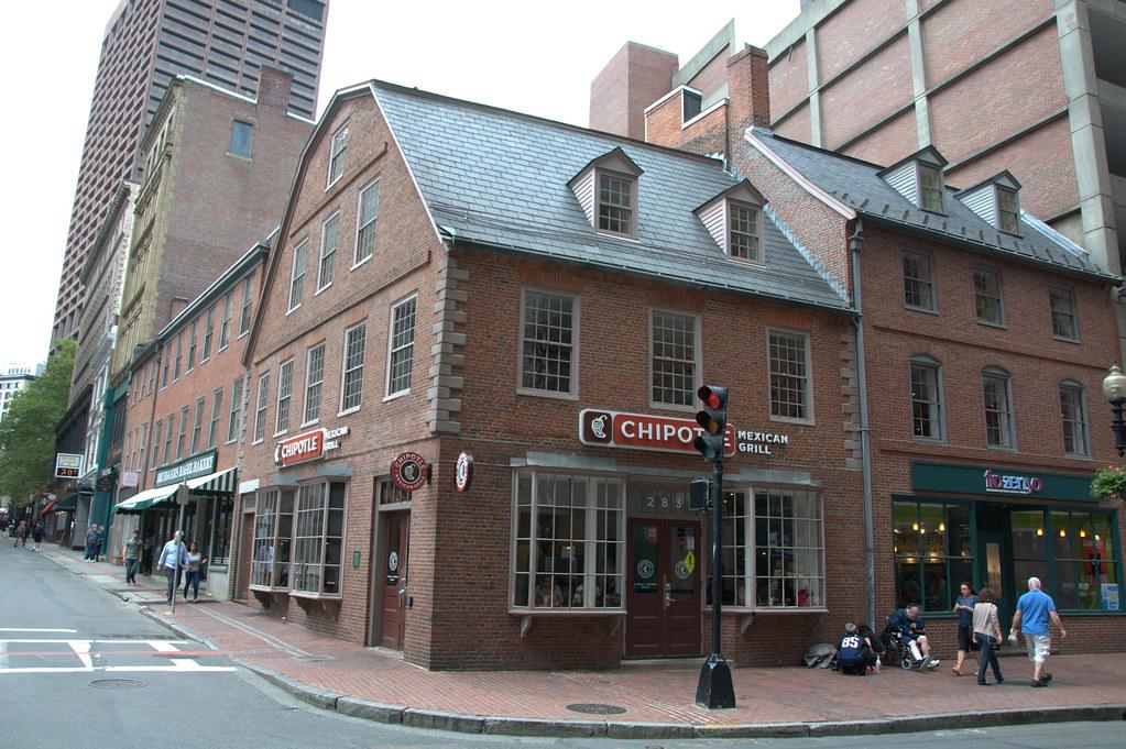 Old Corner Bookstore, Boston