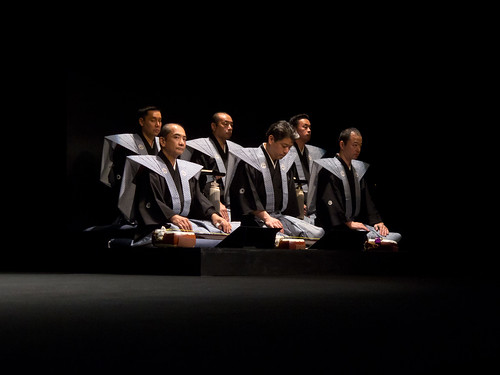 bunraku - les musiciens