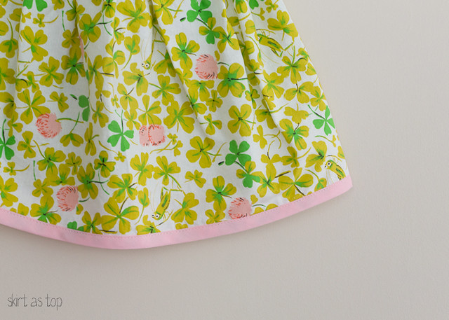 briar rose skirt // skirt as top