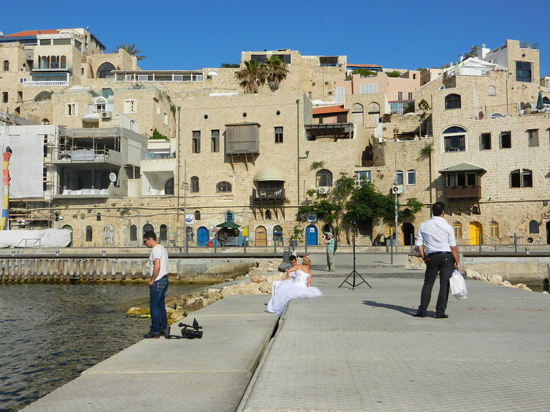 В порту Яффы. Невесты