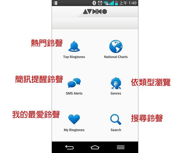 超簡單 Android 手機鈴聲下載軟體『Audiko 鈴聲』@3C 達人廖阿輝