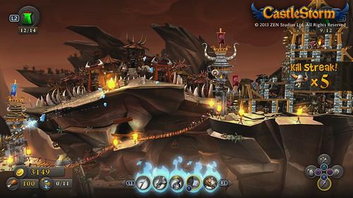 CastleStorm Kill Streak