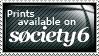 Society6 Stamp