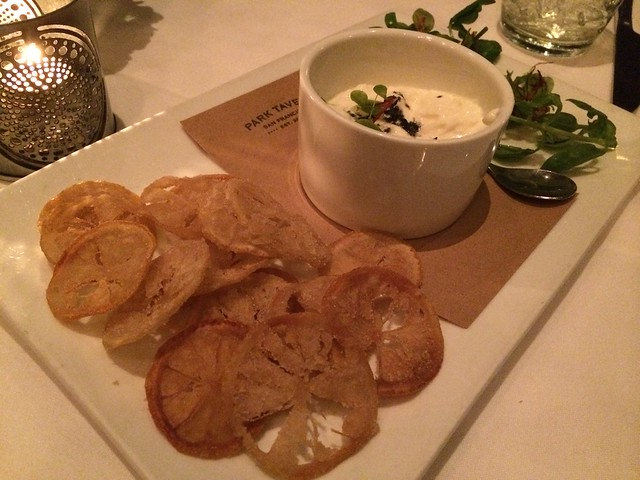 Crispy lemon chips - Park Tavern