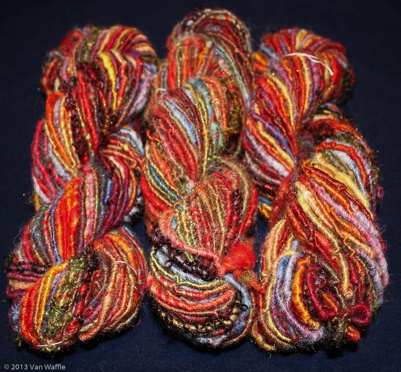 Way of Lost Souls handspun yarn