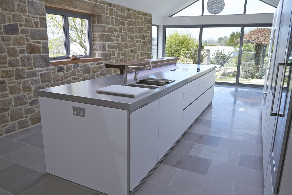Bulthaup B1 Against A Granite Wall Bulthaup Kitchens By Hobsons