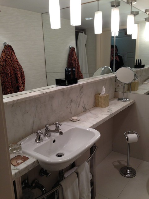 Hotel review 70 park avenue new york city my view from the middle seat Premiere bathroom design reviews
