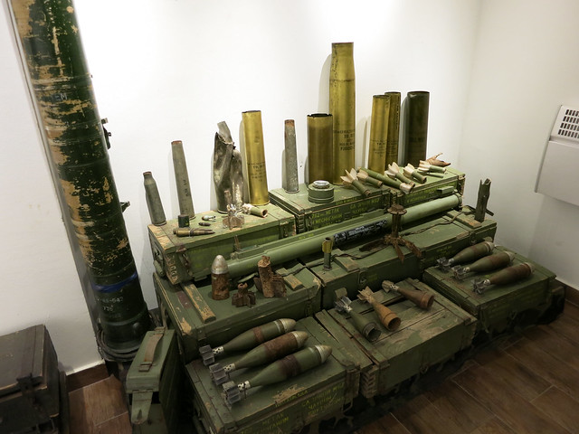Weapons from Bosnian War