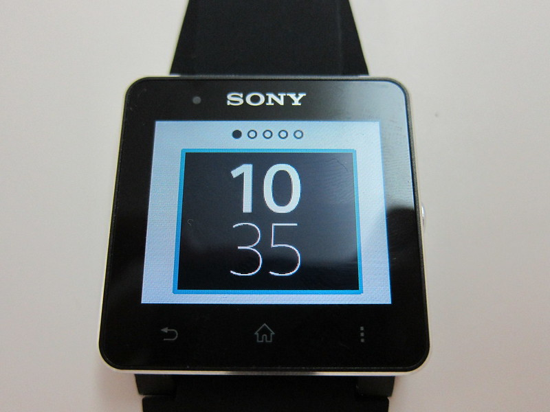 Sony SmartWatch 2 - Watch Face #1