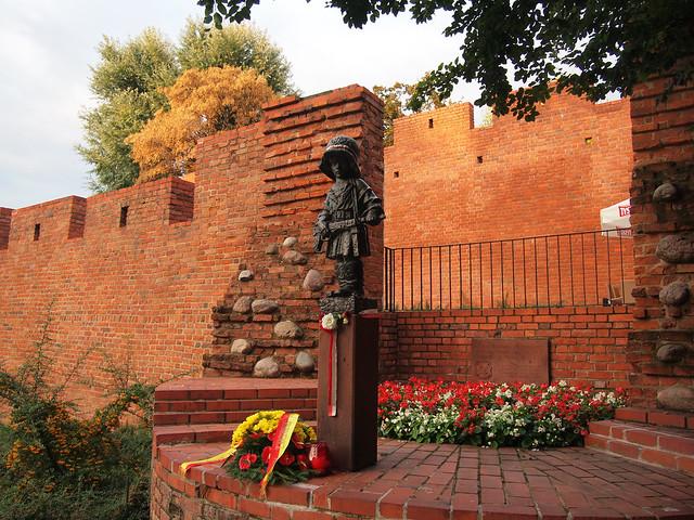 Little Insurgent Monument, Warsaw