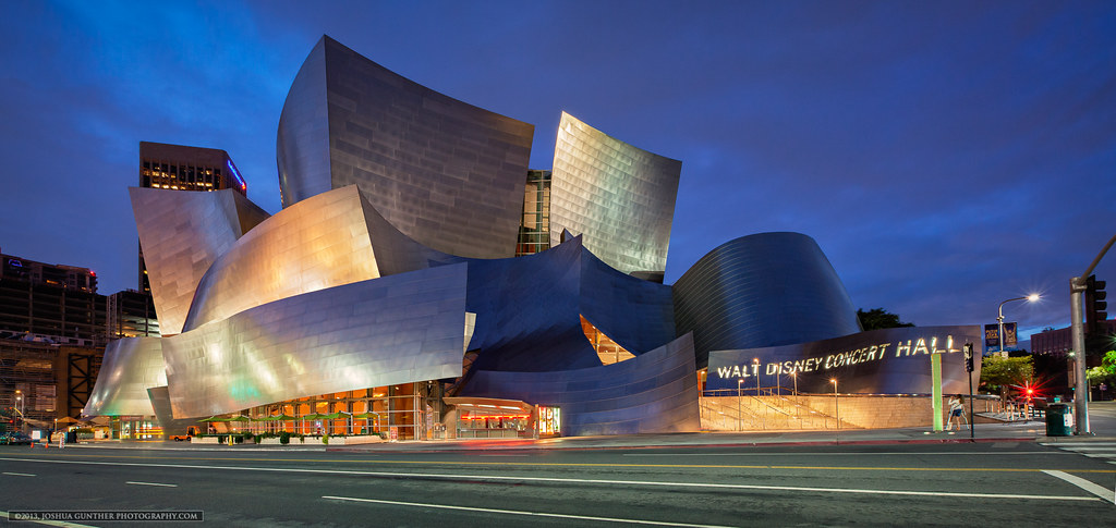 Walt Disney Concert Hall - Downtown Los Angeles