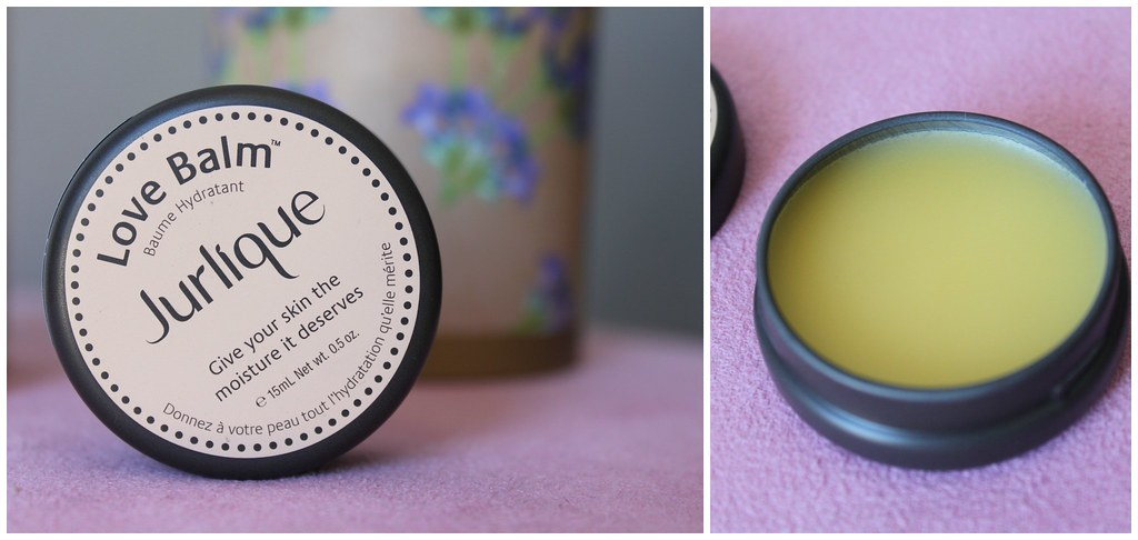 Jurlique Love balm skin moisturizing australian beauty review ausbeautyreview blog blogger luxury natural beautiful lips swatch gift lavender oil myer soft smooth honest opinion