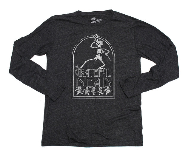 Sportiqe Grateful Dead Long Sleeve Stone T-Shirt