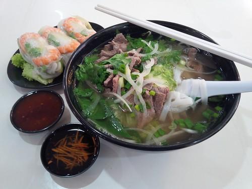 Pho and Goi Cuon