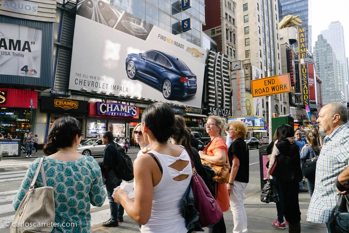 En torno a Times Square