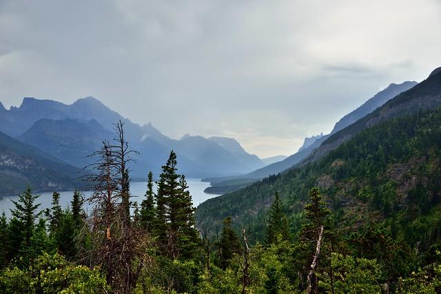 Mountains to Take in While Hiking to Bertha Falls