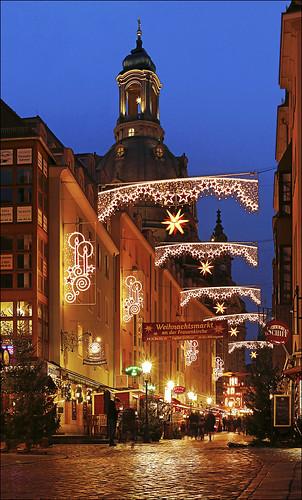 Lichtergasse Dresden