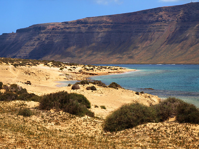 La Graciosa and Lanzarote