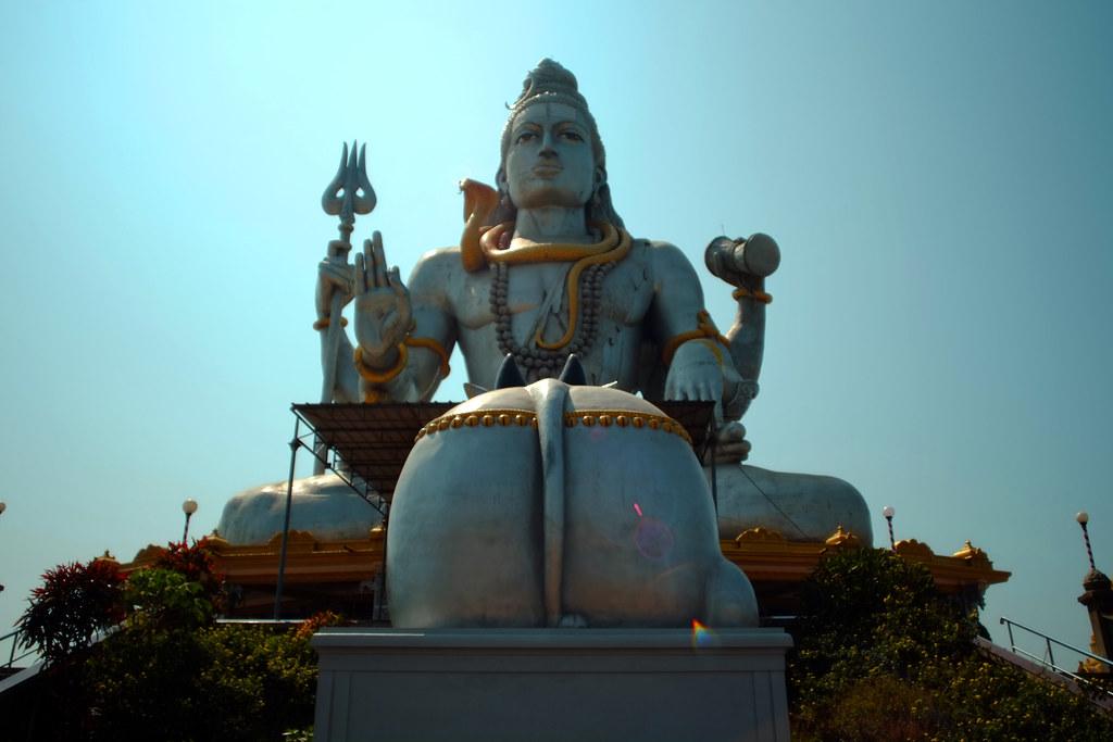 Close up of Shiva