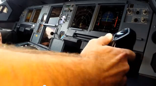 A320 joistick