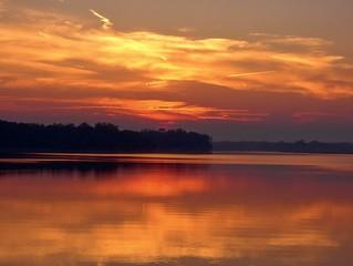 Sunset-Reflecting