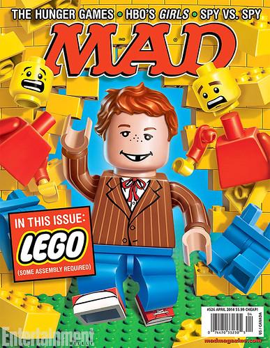LEGO MAD Magazine