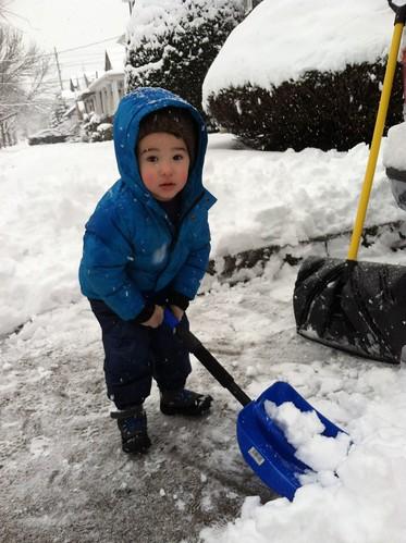 Shoveling- February 2014