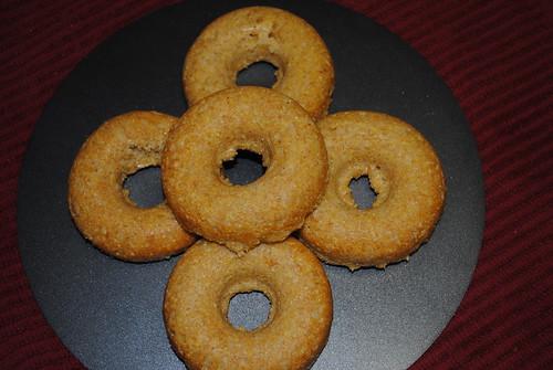 Baked Lemon Cornmeal Doughnuts (4)