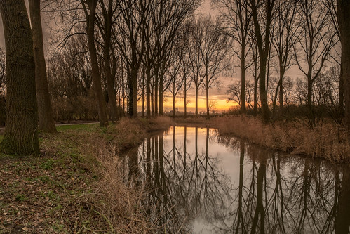 sunrise reflections landscape belgium waterscape damme mygearandme mygearandmepremium mygearandmebronze mygearandmesilver mygearandmegold mygearandmeplatinum mygearandmediamond