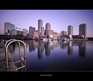 Boston Harbor, Massachusetts.