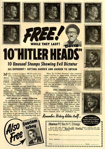 10 HITLER HEADS by WilliamBanzai7/Colonel Flick
