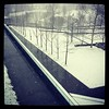 Endless winter continues. From the third floor of @usatoday HQ. #snow #weather