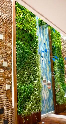 Jardines verticales instalacion mantenimiento for Imagenes de jardines verticales