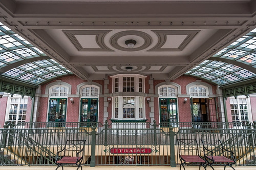 Train Station Symmetry by Jeff.Hamm.Photography
