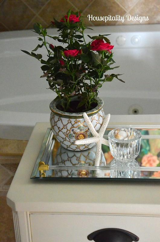 Guest bath table