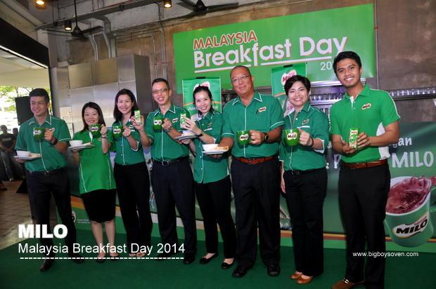 MILO Malaysia Breakfast Day 2014 6
