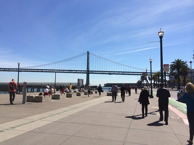 Bay Bridge from the Embarcadero