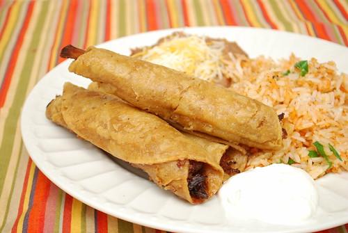 Pork Carnitas Flautas