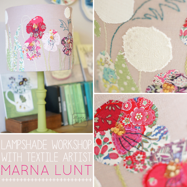 designer maker : lampshade workshop with Marna Lunt | Emma Lamb