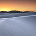 Desert Twilight at White Sands National Monument by glness