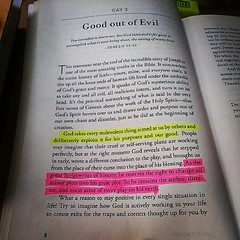 Good out of evil. #devotion #100daysofprayer