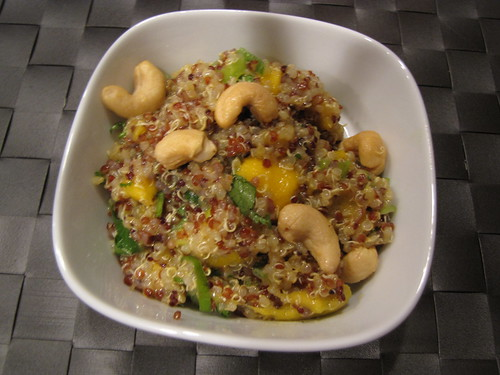 Curried Quinoa Salad With Mango Mango Curry Quinoa