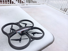 Adventures in Snow: AR Drone 2.0 + Sphero 2.0